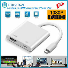 Lightning To HDMI Digital AV TV Cable Adapter For iPad iPhone X XR XS Max 11 Pro