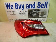 CHRYSLER 200 2011-2013 LEFT/DRIVER SIDE OEM LED TAIL LIGHT PART #05182525AE