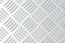 Riffelblech Tränenblech Aluminium 3000x1500x2,5/4mm QUINTETT Bielefeld Abholung