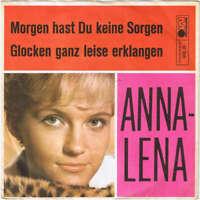 """AnnaLena* Morgen Hast Du Keine Sorgen / Gl 7"""" Single Vinyl Schallplatte 36222"""