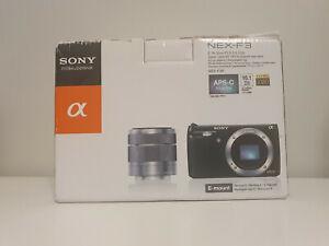 Sony NEX-F3 16.1 MP Digital Camera - Black (Body Only) NEAR MINT + BOX