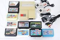 Tested! Nintendo New Famicom Console AV NES 100V-240V NTSC-J Japan Contra #3129