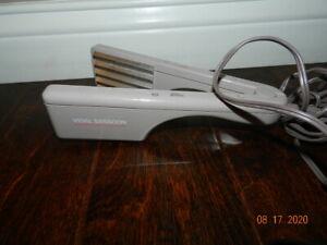 Vintage Vidal Sassoon Hair Crimper Professional Hot Crimping Plug VS-142
