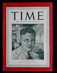 Arthur Szyk Cover Art Time Magazine 8/18 1941 Full Issue