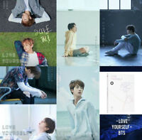 BTS LOVE YOURSELF Her 5th Mini Album BANGTAN BOYS O Ver CD+Poster+Photocard+Gift