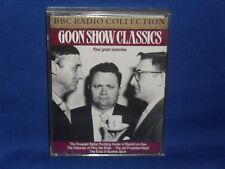 THE GOONS - GOON SHOW CLASSICS - RARE BBC DOUBLE AUDIO CASSETTE TAPE