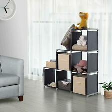Storage Cube Organizer Closet Maid 6 Black Closet Stacker Clothes Modular Cubes