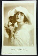 Gräfin Agnes Esterhazy - Film Foto Autogramm-AK (j-7144