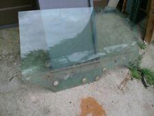 LINCOLN MARK V RIGHT PASSENGER DOOR WINDOW GLASS CARLITE OEM