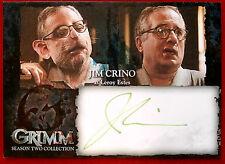GRIMM - Season 2 - JIM CRINO (GREEN INK) (Leroy Estes) - AUTOGRAPH CARD (JCA)