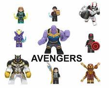 Lego Avengers Minifigures Marvel Endgame Iron Man Thor Hulk Stark Thanos Spider
