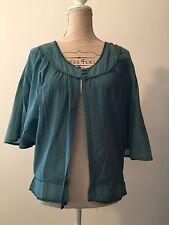 LANA & LISA, blouse bleue taille S/M