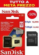 64gb 128gb memoria card SANDISK memory card MICRO SD class 10  64/128GB 100mbs