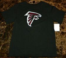 """NEW"" Atlanta Falcons ~ LOGO JERSEY SHIRT ~ NFL Boy's Girl's Sz 4T 4 3X Black"
