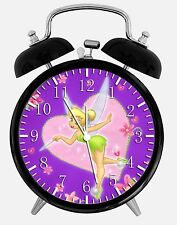 "Tinker Bell Alarm Desk Clock 3.75"" Home or Office Decor W235 Nice For Gift"