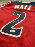 John Wall Washington Wizards Autographed Signed Jersey JSA COA