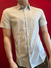 BNWT PAUL SMITH Men's Italian Tailored Short Sleeve Shirt Size S Gift RRP £110
