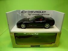 UT MODELS UT0597 CHEVROLET CORVETTE COUPE - BLACK 1:18 - EXCELLENT ON BOX