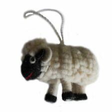 Felt Sheep Ornament - Silk Road Bazaar Handmade Fair Trade Bohemian