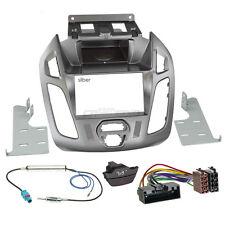 Ford Tourneo Connect pj2 13-18 2-din radio del coche Kit de integracion radio diafragma plata
