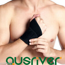 New Neoprene Wrist Thumb Support Brace Guard Strap Wrap Band Protection Sports