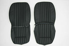 NEW JAGUAR XKE E-TYPE SI LEATHER SEAT COVER MADE TO ORIGINAL SPECIFICATION