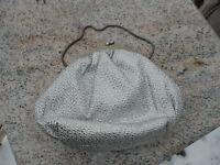 Vintage Du Val Silver Evening Hand Chain Bag Clasp Purse Hong Kong Du-Val