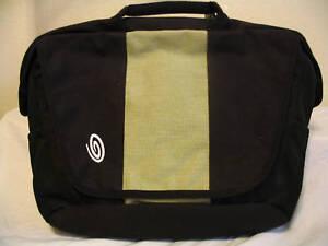 Timbuk2 Hemp Commute Slim Laptop Case Messenger Black