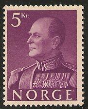 Norway #373 VF MINT VLH - 1959 5k King Olav V