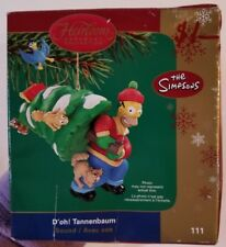 American Greetings Heirloom Collection  Ornament Simpsons 111 Doh Tannebaum 2005