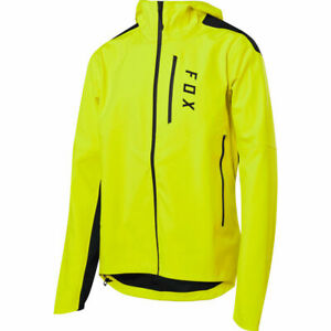 Fox Racing MTB Ranger 3L Water Jacket Day Glo Yellow