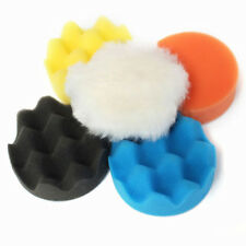 "50Pcs 80mm 3"" Inch Colorful Buffing Polishing Sponge Pads Kit For Car Polisher"