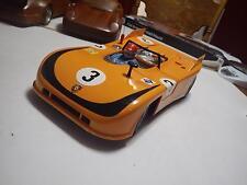 Carrera (Germany) Orange Porsche 908/3 Spyder Plastic Radio Control 1:12 NIB