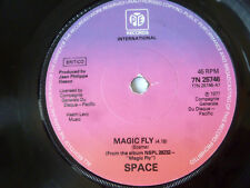 "SPACE ~ MAGIC FLY ~ EX/GEN ~ '77 UK ELECTRO / DISCO 7"" VINYL SINGLE ~ PLAYS TIDY"