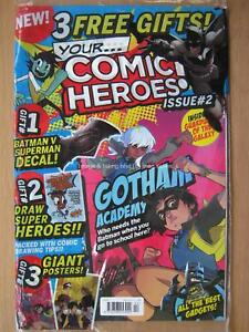 Your Comic Heroes issue 2 Guardians of the Galaxy Gotham Academy & gifts