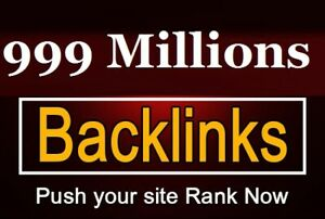 999 millions dofollows profiles backlinks for a better google SEO ranking
