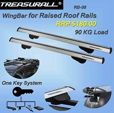 Treasurall Wingbar Roof Racks Cross Bars Peugeot 4007 with roof rails