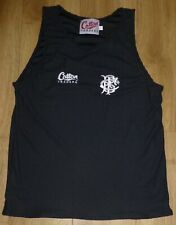 BARBARIANS Rugby-Player Issued-NEW-BLACK Athletics Training Vest Mesh MEDIUM