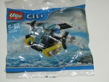 Lego 30346 City Police Prison Island Helicopter with mini figure sealed in bag