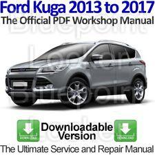 Ford Kuga Mk2 2013 to 2017 Workshop, Service and Repair Manual Download