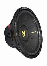Kicker Comp D 12 - 30cm Subwoofer 300mm BASS 2x2ohm Woofer PKW KFZ 600W MAX