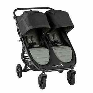 Baby Jogger 2020 City Mini GT2 Double Stroller - Slate - NEW w/ TAGS! (open box)