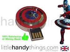 Boys Marvel Avengers Captain America 16GB USB Flash Drive/Pen Memory Stick