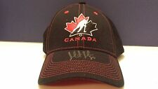MARTIN BRODEUR Team Canada AUTOGRAPHED Signed Hockey Olympics Hat Cap w/ COA