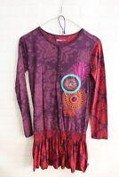 Vestito DESIGUAL Donna Abito Dress Woman Taglia Size XS