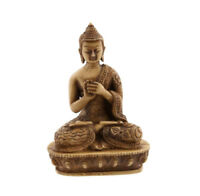 Soprammobile Budda Tibetano Dhyani Vairochana IN Resina 13.5 CM 3168
