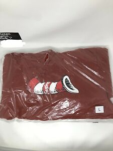Supreme Cat in the Hat Hooded Sweatshirt Rust Large L FW18 New DS