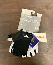 Giro Monica II Gel Womens Cycling Gloves Black Size Medium New