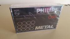 Philips Metal C-60 sehr seltenes audiokassette in OVP aus 1978-81