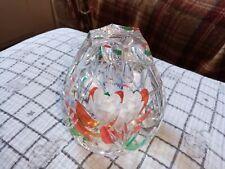 Caithness Glass Tudor Rose Paperweight